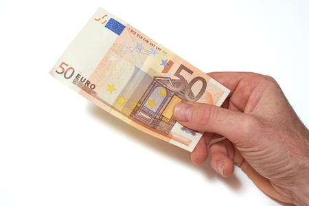 European Bank notes, Euro  currency from Europe, Euros  photo