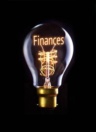 Financia o conceito de uma l