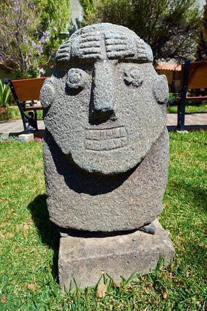 ancash: Artifacts at the Archeology Museum of Ancash,Huaraz, Peru. Editorial