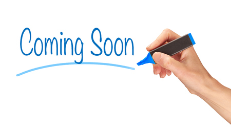 induction: Coming Soon written, Induction Training headlines concept.