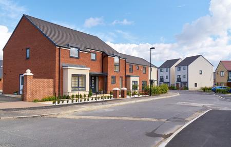イギリスの住宅不動産住宅を新築。