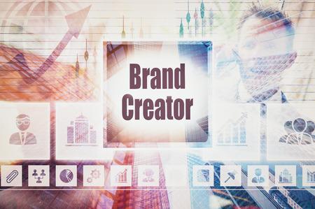 creator: Marca negocio concepto Collage Creator