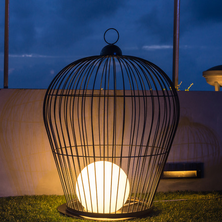 cage lamp photo