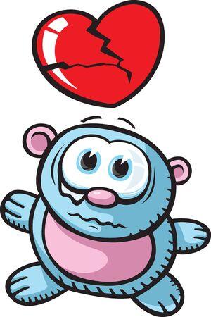 beau: Cartoon bear  Layered vector and high resolution jpeg files available