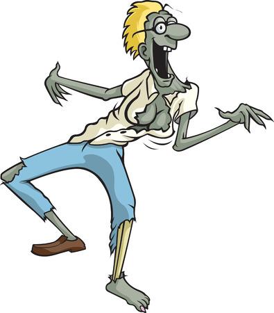 whose: A cartoon Zombie whose name is Tracy