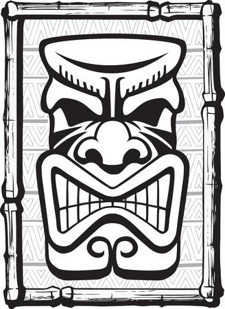 moai: Archivos vectoriales y alta resolución jpeg Illustrated Tiki Capas disponibles