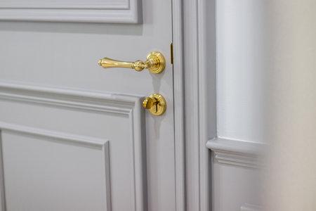 The door handle of luxury Banque d'images