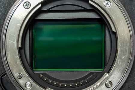 Images near the full frame sensor of a mirrorless digital camera