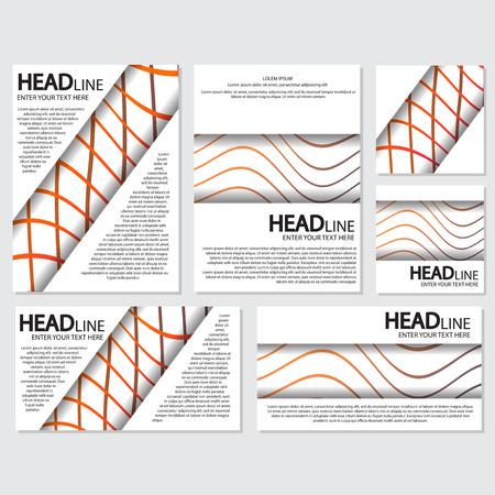 fresh background flyer style background Design Template,Vector Illustration