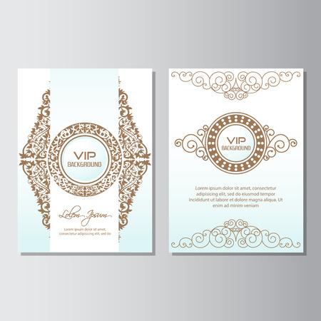 invitation background flyer style Design Template,Vector Illustration