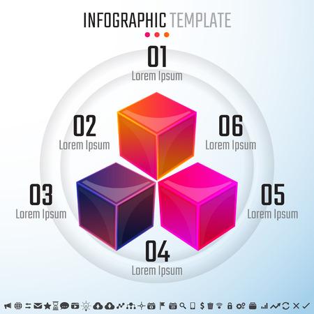 Infographics Design Template,Vector Illustration