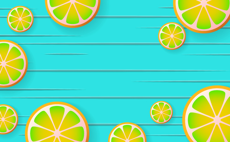 lemonade Vector background for banner, poster, flyer Stok Fotoğraf - 84354920