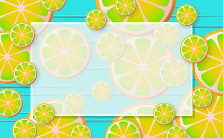 lemonade Vector background for banner, poster, flyer