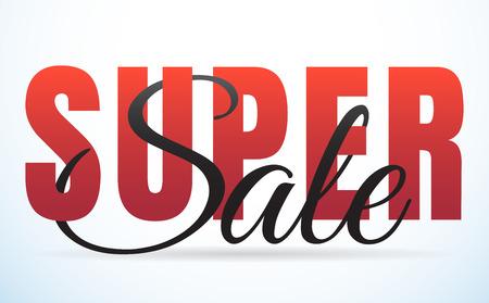 A big sale template banner Vector background for banner, poster, flyer. Illustration