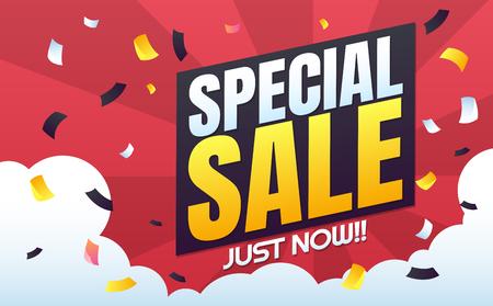 Een grote verkoop sjabloon banner Vector achtergrond voor banner, poster, flyer