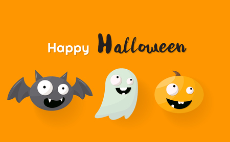 Halloween Background Vector background for banner, poster, flyer