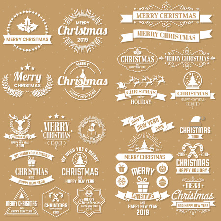Christmas Background Vector background for banner, poster, flyer Vettoriali