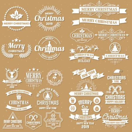 Fond de Noël Fond de vecteur pour bannière, affiche, flyer