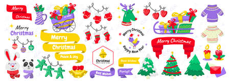 christmas label Vector Logo for banner, poster, flyer 版權商用圖片 - 159304642