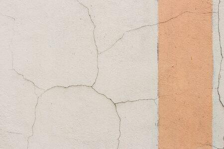 fissure: Crack wall Banque d'images