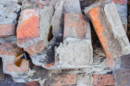 wreckage: brick wreckage