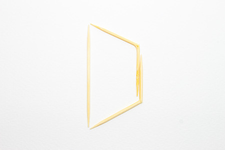 toothpick: Toothpick alphabet D
