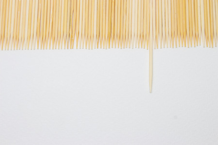 toothpick: Toothpick isolated on white background