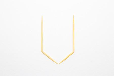 toothpick: Toothpick alphabet U