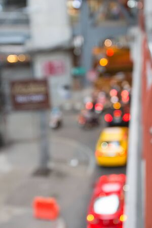 trafic: Blur bokeh of trafic