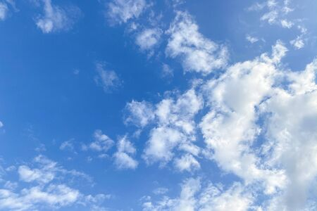 Blue sky with cloud Banque d'images
