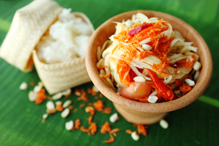 Thai food - Somtum - Papaya Salad