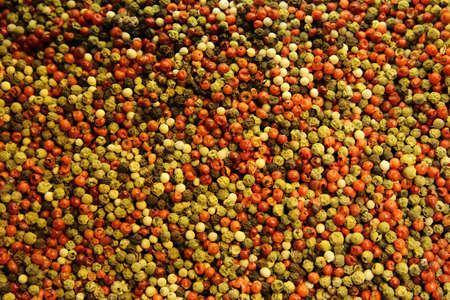 multi color: multi color peppercorn Stock Photo