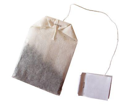 pekoe:  specialty tea bag isolated