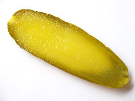 pickle: pickle slice Stock Photo