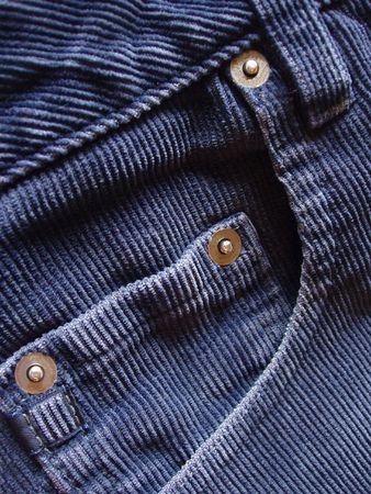 corduroy: Cord pantaloni dettagli  Archivio Fotografico