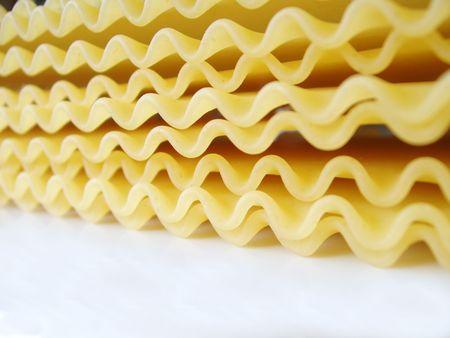 uncooked lasagna noodled photo