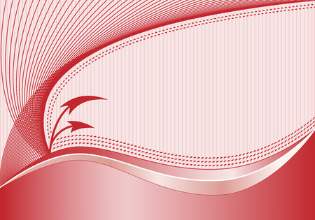 flechas curvas: Resumen de fondo con l�neas onduladas de decoraci�n elegante, flechas curvas, fondo de rayas sutiles y en el espacio para a�adir su propio texto. Vectores