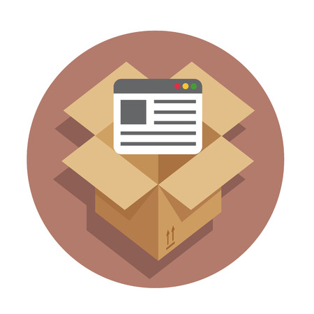 api: Vector flat icon API