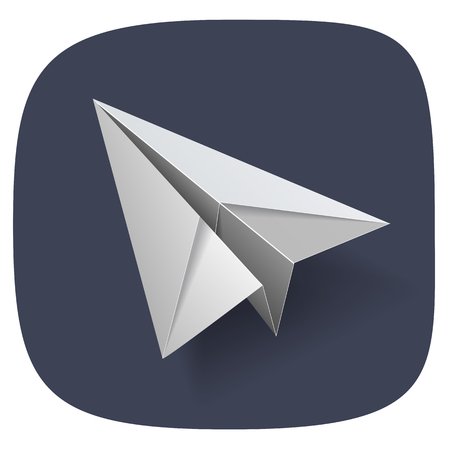 airplane: paper airplane