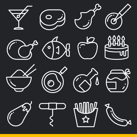 Vector icon lines trend  sign isolated black Stock Vector - 67786899