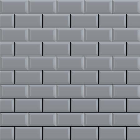 Seamless bricks wall background trend vector