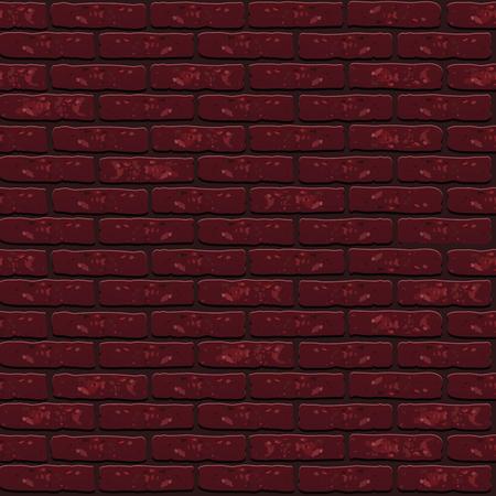 Vector trend Naadloze textuur patroon bakstenen muur