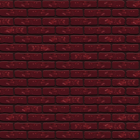 Vector trend Seamless texture pattern brick wall Ilustrace