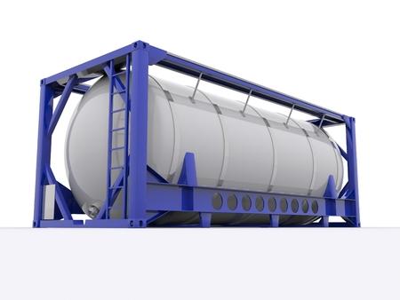 contenedor cisterna Foto de archivo