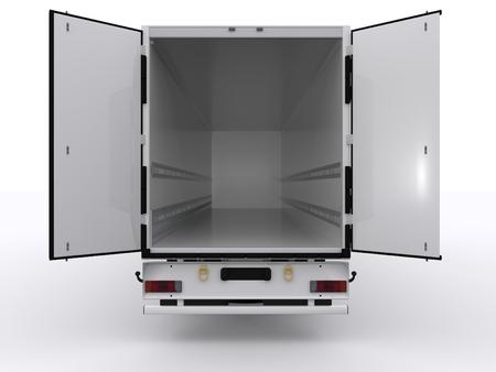 camion: remolque abierto