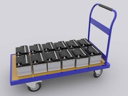 car batterys Reklamní fotografie