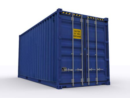 high cube container photo