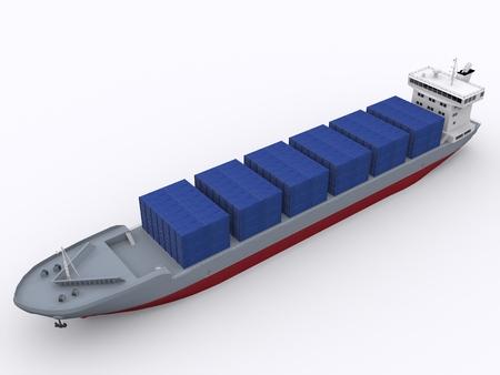 container ship Reklamní fotografie