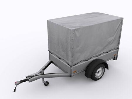 Small trailer Reklamní fotografie