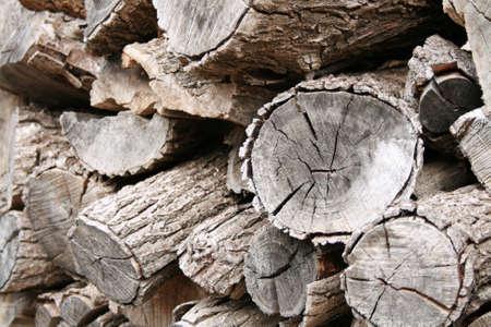 Stack of fire wood Фото со стока